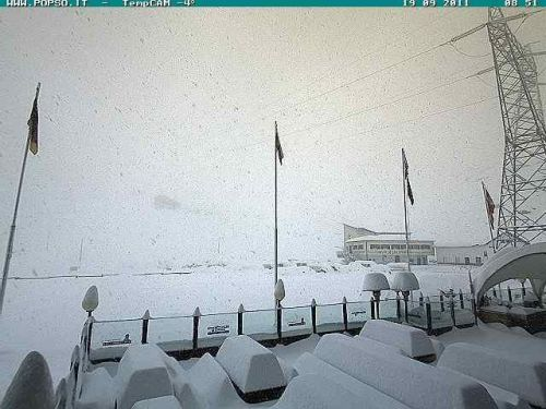 Imagen webcam la mañana del lunes 19 de Septiembre de 2011