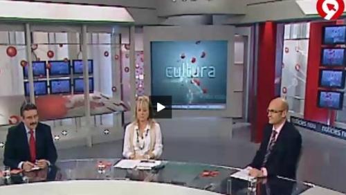 Emisión de A2 Cultura del pasado viernes en Canal 9