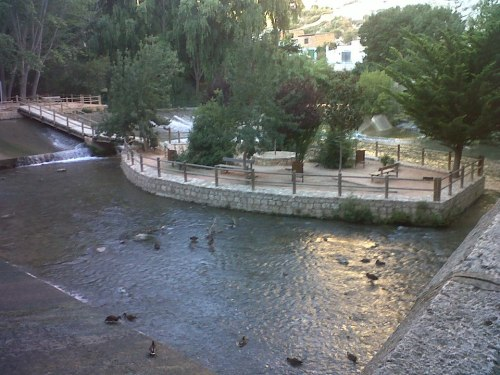 Vista del río Júcar a su paso por Alcalá del Júcar - Antonio M Chaques